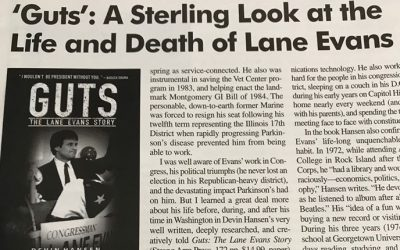 Stellar Review of Guts from Veterans Magazine